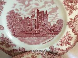 Johnson Brothers 20 Piece Pink Old Britain Castles Service for 4 Ships Free