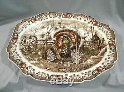 Johnson Brothers 20 Turkey Platter His Majesty Unused