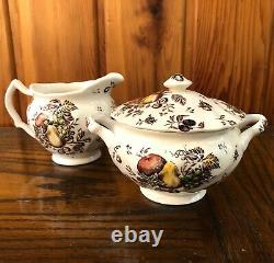 Johnson Brothers Autumn's Delight Transferware Service for 12, 68 Pieces