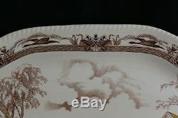 Johnson Brothers BARNYARD KING Turkey Large serving platter 20