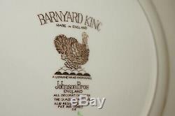 Johnson Brothers Barnyard King (6) Dinner Plates, 10 3/4
