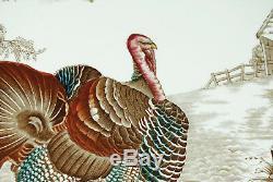 Johnson Brothers Barnyard King Large 20.5 Inch Turkey Platter Vivid Colors