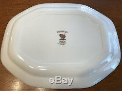 Johnson Brothers Barnyard King Large Turkey Platter 20.5 Inch Thanksgiving Brown