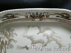 Johnson Brothers Barnyard King, Turkey Oval Serving Platter 20 1/4 x 16