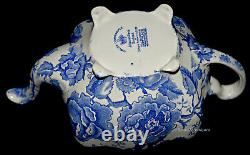 Johnson Brothers Blue Chippendale Teapot