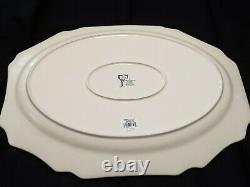 Johnson Brothers / Bros FRIENDLY VILLAGE Turkey Serving Platter 20 NEW / BOX