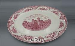 Johnson Brothers China OLD BRITAIN CASTLES Large Turkey Platter 20 Rare