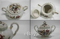 Johnson Brothers China Staffordshire Bouquet Dinner Plates Set of 54 Pieces