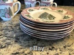 Johnson Brothers Christmas Old Britain Castles China