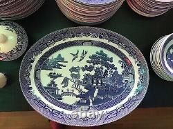 Johnson Brothers/Churchill England Blue Willow Dinnerware Collection
