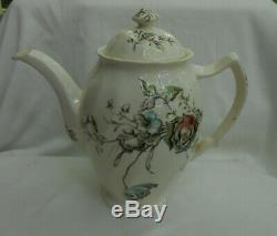 Johnson Brothers Day In June Flowers Coffee Pot Server Rare