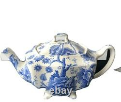Johnson Brothers ENGLISH CHIPPENDALE-BLUE 4 Cup Tea Pot 276071