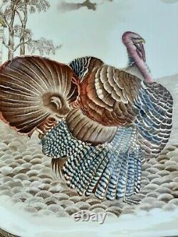 Johnson Brothers, England, Barnyard King, Thanksgiving Turkey Serving Platter