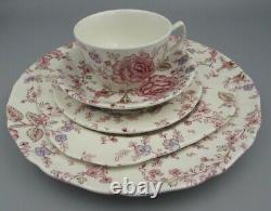 Johnson Brothers England China ROSE CHINTZ Service for Four 20 Pieces