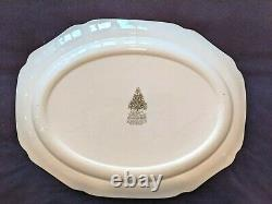 Johnson Brothers England Merry Christmas Large 20X 15 Oval Serving Platter