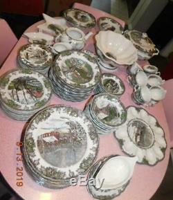 Johnson Brothers FRIENDLY VILLAGE 5 Pc Place Settings for 12