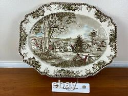 Johnson Brothers FRIENDLY VILLAGE SQUARE 20 Oval Serving Platter