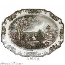 Johnson Brothers Friendly Village 19.5-Inch Turkey Platter NEW