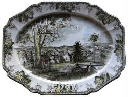 Johnson Brothers Friendly Village 20 & 12 Platters MADE IN ENGLAND