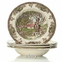 Johnson Brothers Friendly Village 28-Piece Earthenware Dinnerware Set
