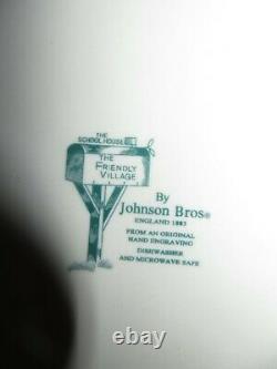 Johnson Brothers Friendly Village 4 Place Settings 28 Piece Set