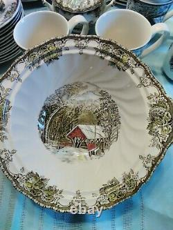 Johnson Brothers Friendly Village Dinnerware Set 52 Pieces