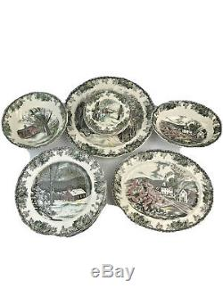 Johnson Brothers Friendly Village Made In England Set Of 19 Piece China