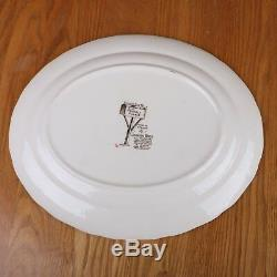 Johnson Brothers Friendly Village Platter Serving Plate Dish Harvest Time