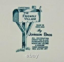 Johnson Brothers Friendly Village (the Christmas) 4 Piece Place Setting