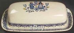Johnson Brothers HEARTS & FLOWERS 1/4 Lb Covered Butter Dish 277924