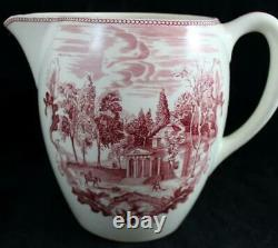 Johnson Brothers HISTORIC AMERICA 32 Ounce Pitcher Monticello VERY GOOD COND