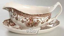 Johnson Brothers HIS MAJESTY Gravy Boat & Underplate 2179406