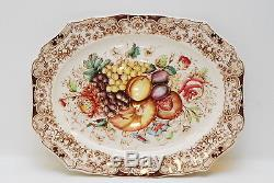 Johnson Brothers Harvest Fruit Windsor Ware Turkey Platter 20.25 Inch