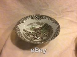 Johnson Brothers Heritage Hall Made in Staffordshire England Dinnerware 45pcs