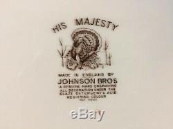 Johnson Brothers His Majesty 20 1/8 Huge Turkey Serving Platter