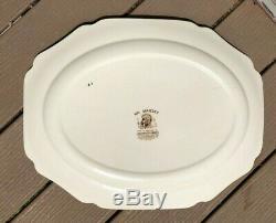 Johnson Brothers His Majesty Huge Oval Turkey Platter 20 X 15 3/4 MINT Vintage