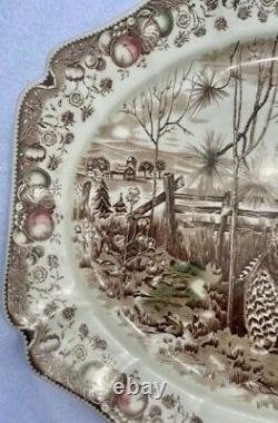 Johnson Brothers His Majesty Turkey Platter 20 1/4 x 15 3/4 NEW