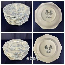 Johnson Brothers Hyde Park Blue Heritage Ironstone England Collection (44 pcs)