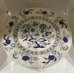 Johnson Brothers Nordic Blue Set Of 7 Dinner Plates And 7 Salad Plates
