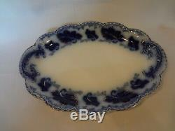 Johnson Brothers Normandy Flow Blue Large Oval Platter