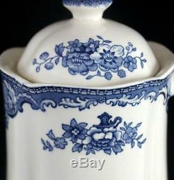 Johnson Brothers OLD BRITAIN CASTLES BLUE Coffee Pot England GREAT CONDITION