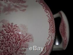 Johnson Brothers Old Britain Castles Pink Soup Tureen Made in England VERY NICE