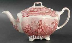 Johnson Brothers Old Britain Castles Pink Tea Pot 281625