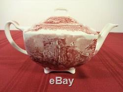 Johnson Brothers Old Britain Castles Pink, Tea Set, Mint Condition