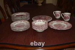 Johnson Brothers Old Britain Castles Spode Archive Pickman China Set