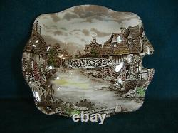 Johnson Brothers Olde English Countryside Brown MultiColor Soup Tureen with Lid