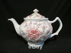 Johnson Brothers ROSE CHINTZ Teapot