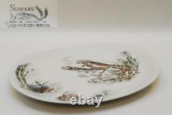 Johnson Brothers SEAFARE Turkey Platter 16 Inch