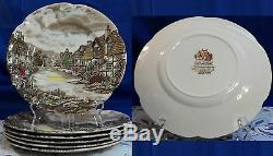 Johnson Brothers SERVICE FOR 6 OLDE ENGLISH COUNTRYSIDE IRONSTONE SET England
