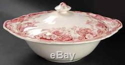 Johnson Brothers STRAWBERRY FAIR Round Covered Vegetable Bowl 284331